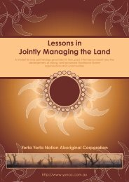 Lessons in Jointly Managing the Land