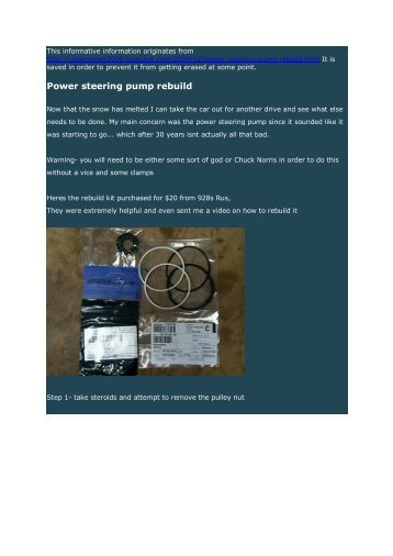 Power steering pump rebuild.pdf