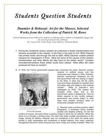 a printable PDF - Museum of Fine Arts