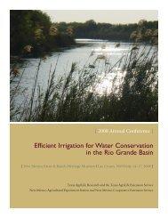 2008 Annual Conference Agenda - 2013 Rio Grande Basin Initiative ...