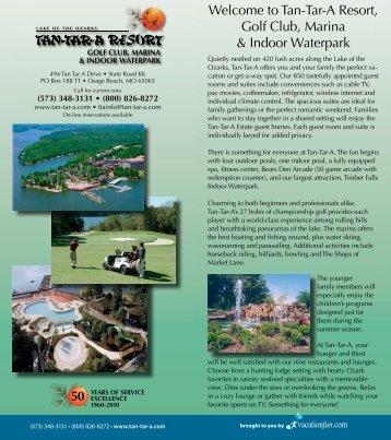 Restau Welcome to Tan-Tar-A Resort, Golf Club ... - VacationFun.com