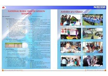 Newsletter Oct'2009 - NRHM Manipur