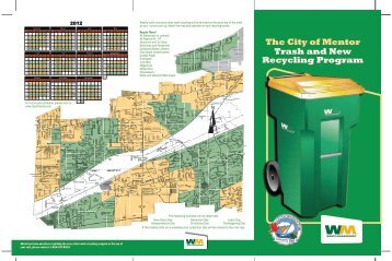 2012 Program Brochure with Map and Revised ... - City of Mentor