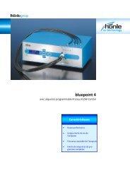 Information sur le produit bluepoint 4 - Dr. Hönle AG