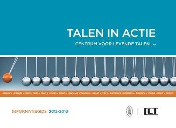 TALEN IN ACTIE - Centrum voor Levende Talen
