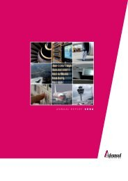 ANNUAL REPORT 2006 - Advanced Inflight Alliance AG