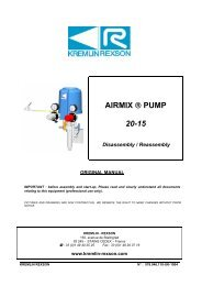 AIRMIX ® PUMP 20-15 - Kremlin Rexson Sames