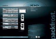 Gehen Sie ins Detail. (PDF) - Heinen freezing Gmbh & Co. KG