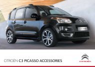 CITROËN C3 pICAssO ACCEssORIEs - JC Campbell