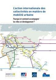 LLaction internationale des collectivités en matière de mobilité urbaine