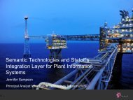 Semantic Technologies and Statoil's Integration ... - SemTech 2011