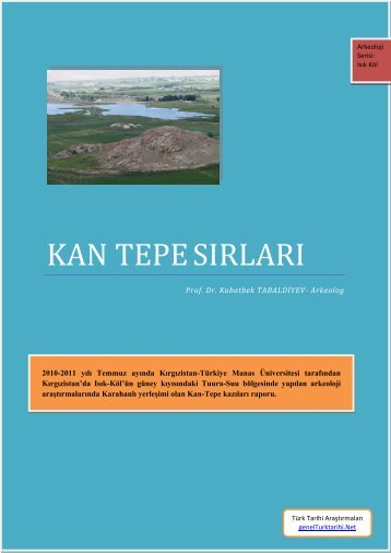 kan tepe sırları - Türk Tarihi Araştırmaları