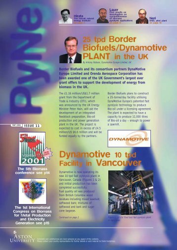 AW Pyne Newsletter ISSUE 11