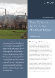 Black Carbon in the Hindu Kush- Himalayan Region