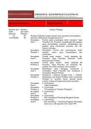 KENYATAAN PINDAAN [PROSEDUR : KKM/PRP/BAP/CKAPS/PK-01]