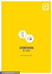 STENTOFON Bi-Way LR.pdf - Zenitel