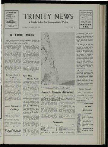 TRIN ITY N E /S - Trinity News Archive