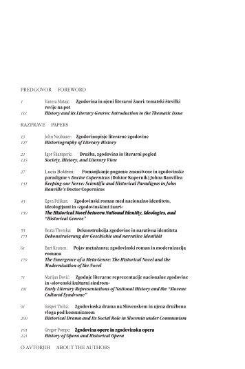 (pdf) / whole papers (pdf) - Društvo za primerjalno književnost - ZRC ...