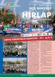 2011. március-április - Magyar Olaj- és Gázipari Bányász ...