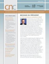 Bulletin du CNC – Avril 2013 - Normes d'information financière et de ...
