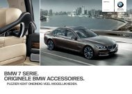 BMW  SERIE. ORIGINELE BMW ACCESSOIRES. - F. Breeman ...