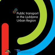 Public transport in the Ljubljana Urban Region