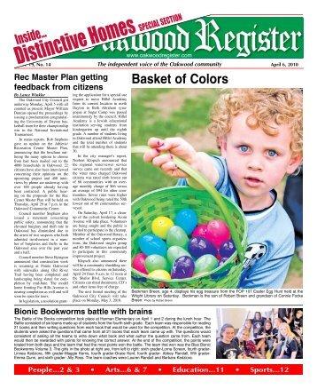 Apr 6 issue.pdf - the Oakwood Register