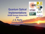 1/page - SUSSP67: Quantum Information & Coherence