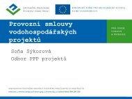 Soňa Sýkorová - Státní fond životního prostředí