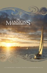 View Mansions of Rockwall Active Adult Community Brochure