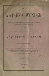 WATSEKA WONDER; - University Library