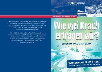 Wissenschaft im Bistro - WPK