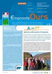 Empreinte Ours n°4 - DREAL Midi-Pyrénées