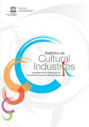 Statistics on Cultural Industries - International Trade Centre