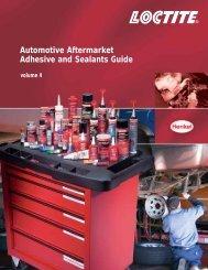 Automotive Aftermarket Adhesive and Sealants ... - NY Tech Supply