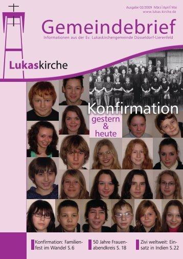 Konfirmation gestern und heute - Evangelische ...