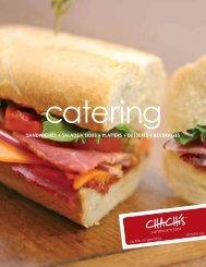 sandwiches + salads + sides + platters + desserts + ... - Chachi's Eats