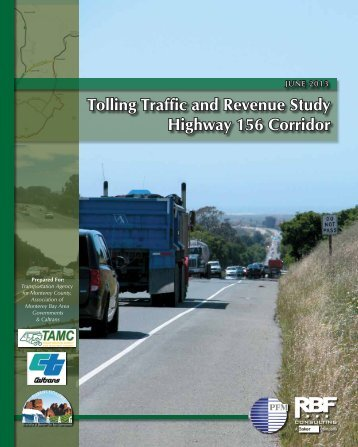 156 Toll Road Study and Appendices - Transportation Agency for ...