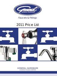 2011 Price List - Greenfield World Trade