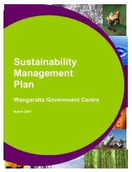 Sustainable Management Plan - Rural City of Wangaratta