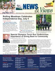 July/August 2010 - City of Rolling Meadows
