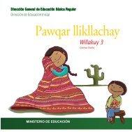 Pawqar llikllachay - Dirección General de Educación Básica Regular