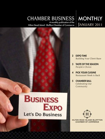 BUSINESS EXPO - Hilton Head Island-Bluffton Chamber of Commerce