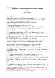 Bibliographie - UFR Mathématiques et Informatique