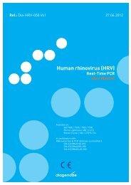 Human rhinovirus (HRV) - Diagenode Diagnostics