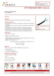 NF F 55-625 (K25) 1000V - Cuivre nu - Nexans