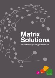 Read the full Mobistar Matrix Solutions dossier here!