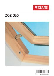 Opening Restrictor (ZOZ 010) - Velux