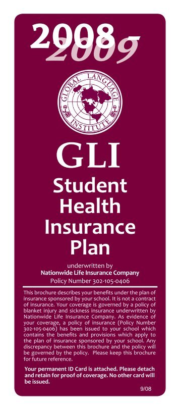Student Health Insurance Plan - ASCENSION Benefit & Insurance ...