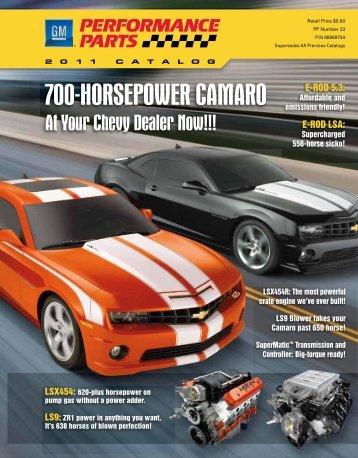 700-Horsepower Camaro - LS2.com